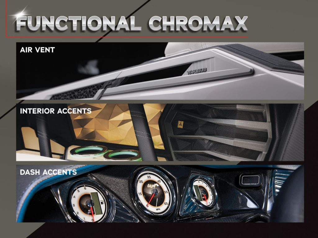Functional Chromax compliments design and works to accent both interiors and exteriors.